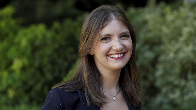 La députée LREM des Yvelines, Aurore Bergé