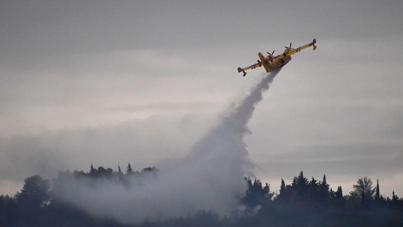 300 hectares de garrigue et pinède brûlés, des habitations évacuées — Hérault