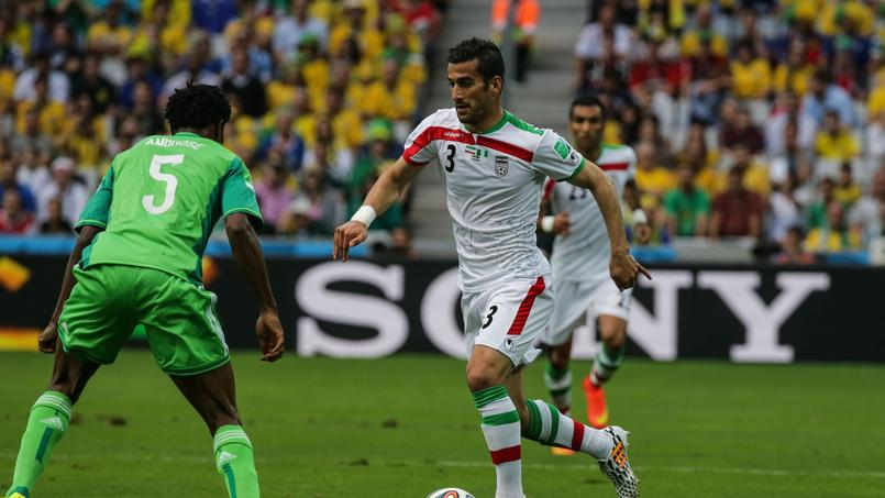 Ehsan Haji Safi a disputé la Coupe du monde 2014 avec l'Iran.