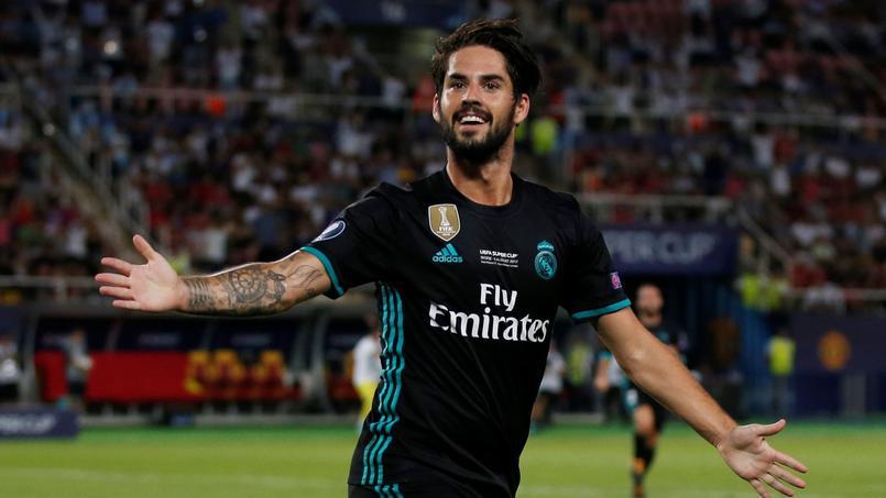 Isco est lié au Real Madrid jusqu'en 2021 avec une clause de cession à 700 millions d'euros.