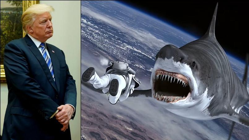 Donald Trump aurait pu jouer dans le troisième volet de la saga nanardesque «Sharknado».