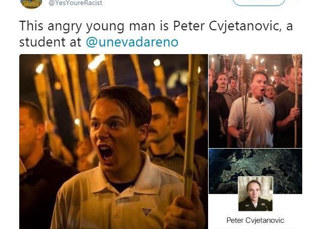 Les personnes présentes au rassemblement de la droite radicale sont identifiées sur Twitter.