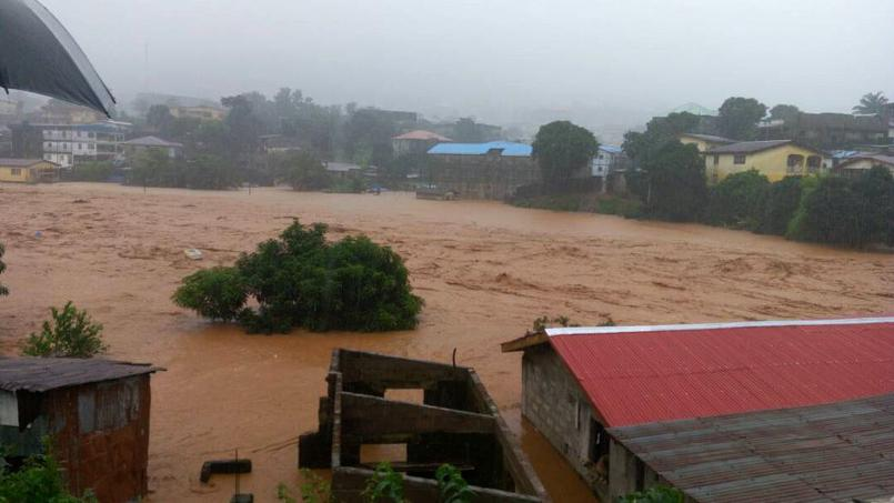 312 morts selon la Croix-Rouge — Sierra Léone