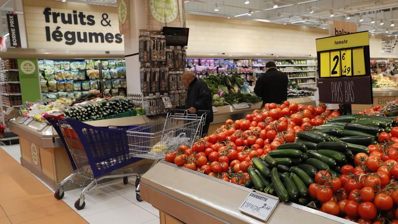 Baisse des prix des fruits et légumes — Consommation