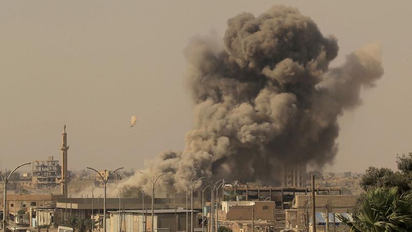 27 civils tués par des raids de la coalition sur Raqa — Syrie