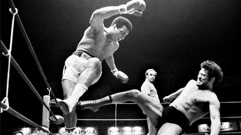 Combat Mayweather-McGregor : en 1967, le grand Ali avait affronté un catcheur