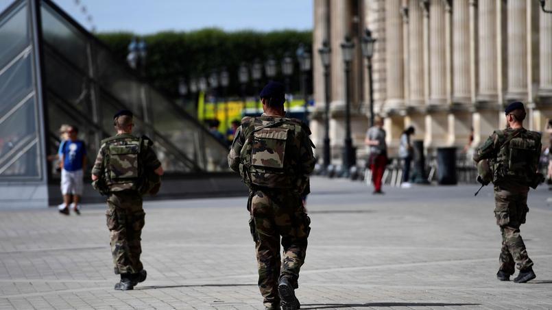 Au total, 7500 soldats sont mobilisés en permanence sur l'ensemble de la France