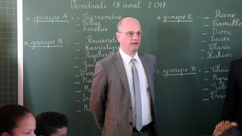 Blanquer annonce une hausse du budget de l'Education nationale