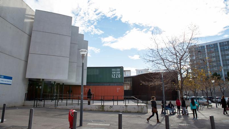 Le collège Izzo à Marseille.