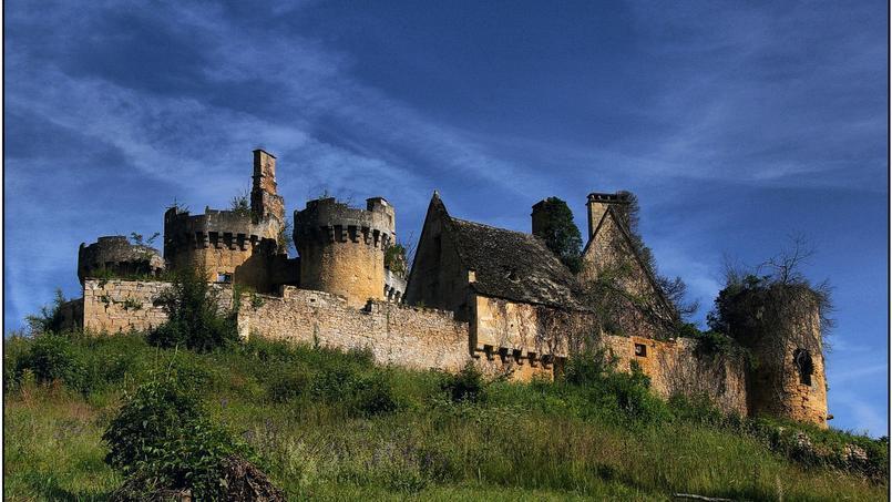 Adopte un château. Devenir châtelain coûte 50 € en Dordogne