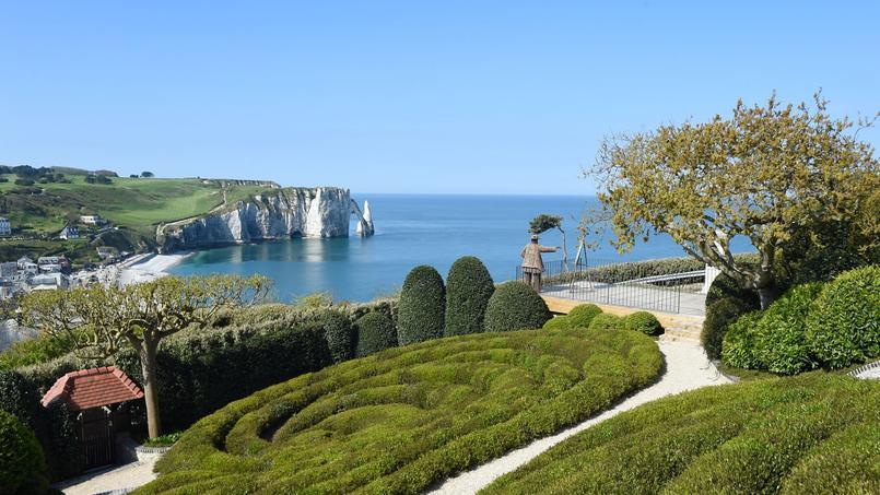 Entre ciel et mer l 39 incroyable jardin russe d 39 tretat for Jardin 911