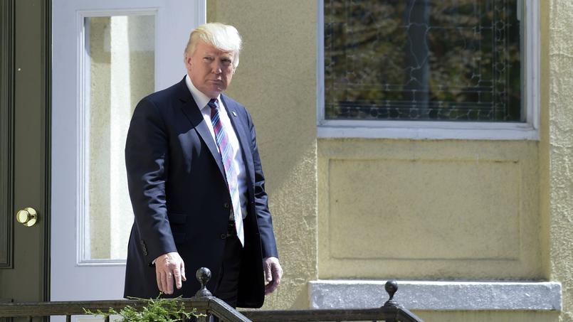 Le président américain Donald Trump a dénoncé dimanche l'essai nucléaire hostile mené par la Corée du Nord