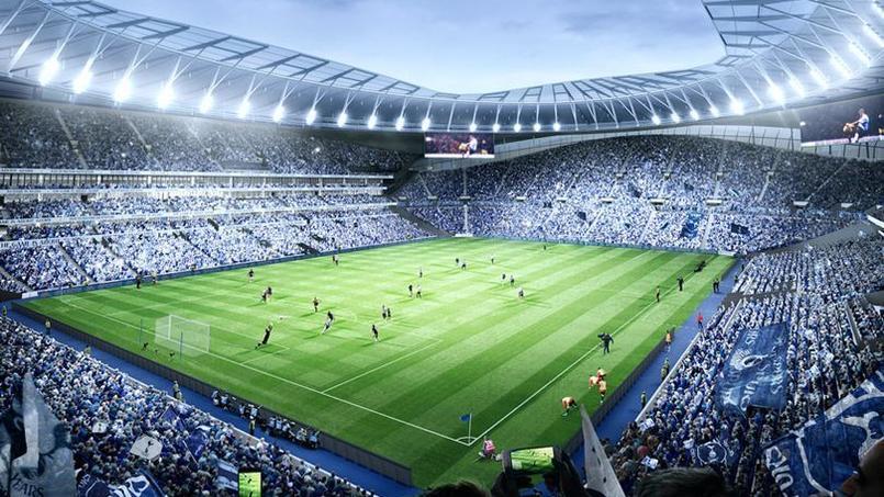 Deux pelouses, distributeurs de bières, boulangerie : Découverte du futur stade de Tottenham