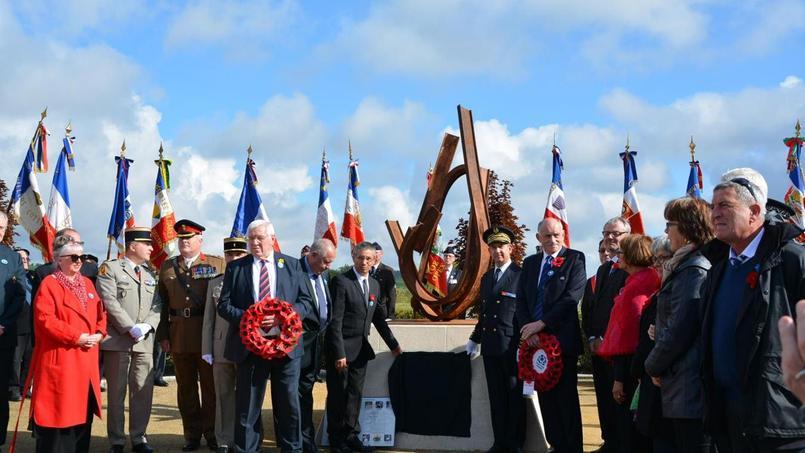 Un mémorial dédié aux rugbymen inauguré au Chemin des Dames