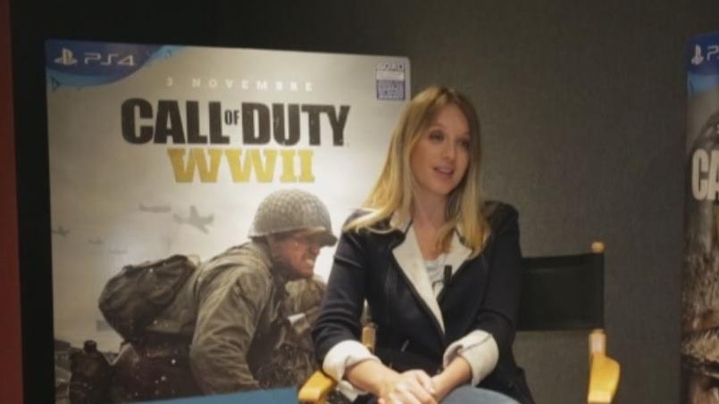 Call of Duty WWII: Ludivine Sagnier prête sa voix au jeu vidéo