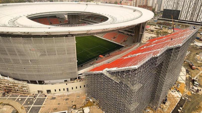 Mondial 2018 : les tribunes russe qui font peur