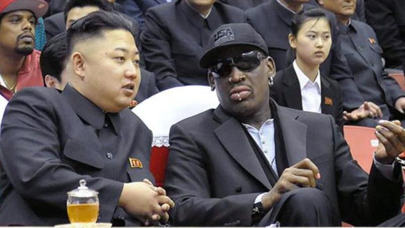Entre Kim Jong-un et Dennis Rodman, l'amitié est au beau fixe — Envoyé Spécial