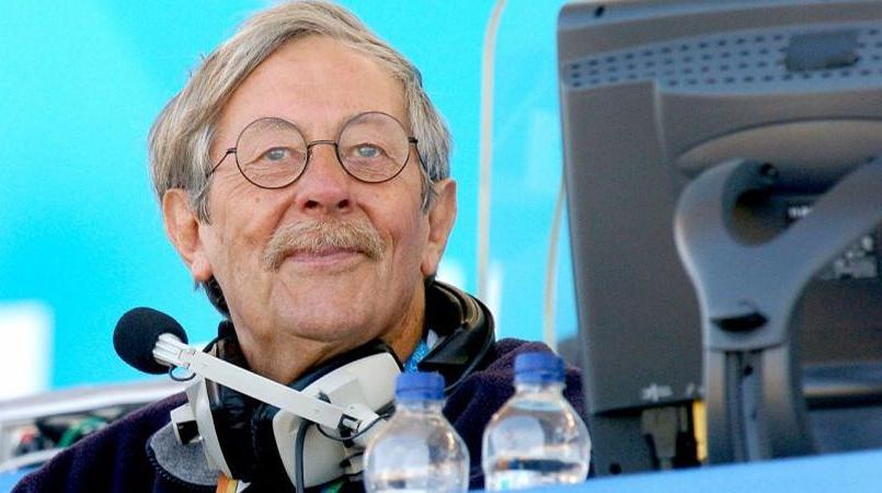 Jean Rochefort aux commentaires lors des JO de 2004 à Athènes.