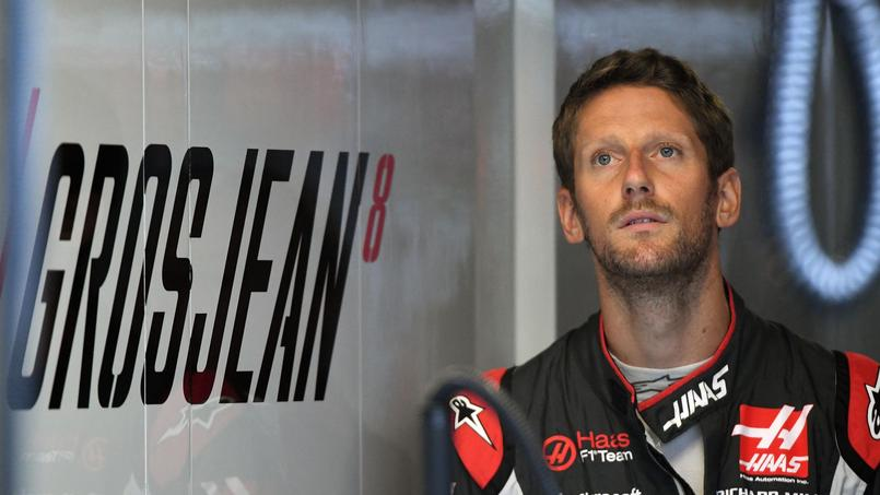 Dans les pas de Romain Grosjean un jour de Grand Prix