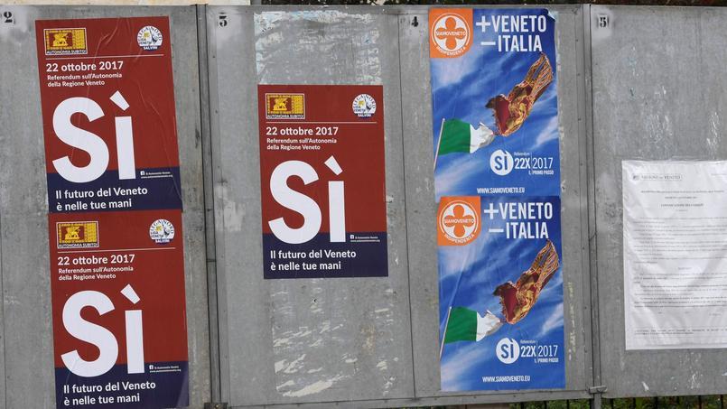 Italie : la Vénétie et la Lombardie votent sur leur autonomie
