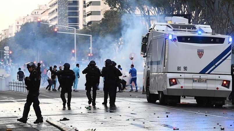 Les incidents dans les rues de Marseille avant le Classique OM-Paris SG