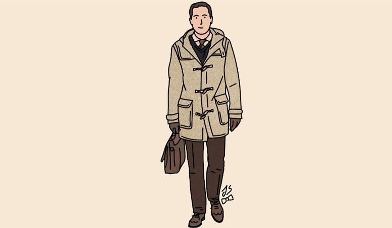 Le duffle-coat, un intemporel