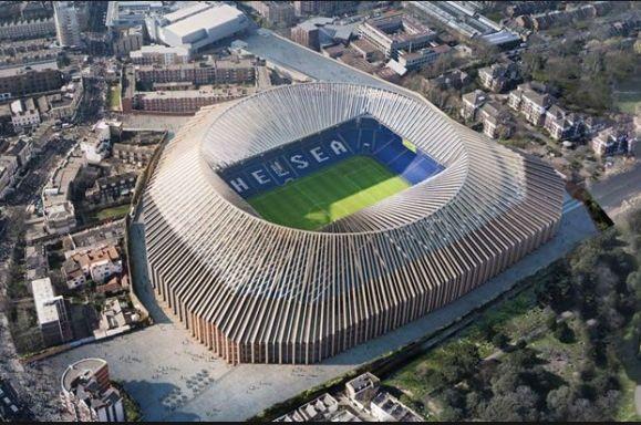 Après réévaluation des coûts, Chelsea va disposer du stade le plus cher d'Europe