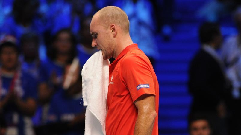 Coupe Davis : le Belge Steve Darcis remercie ceux qui l'ont «démoli»