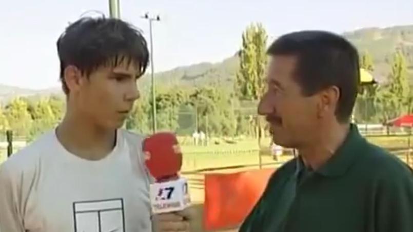 Adolescent, Nadal n'était pas fan de la terre battue