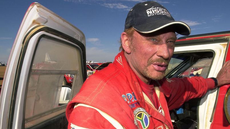 Johnny avait participé au Dakar en 2002.