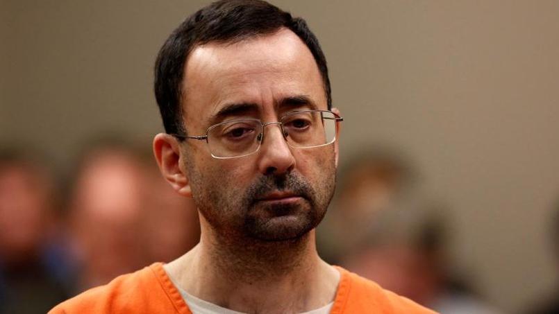 Larry Nassar lors de son procès