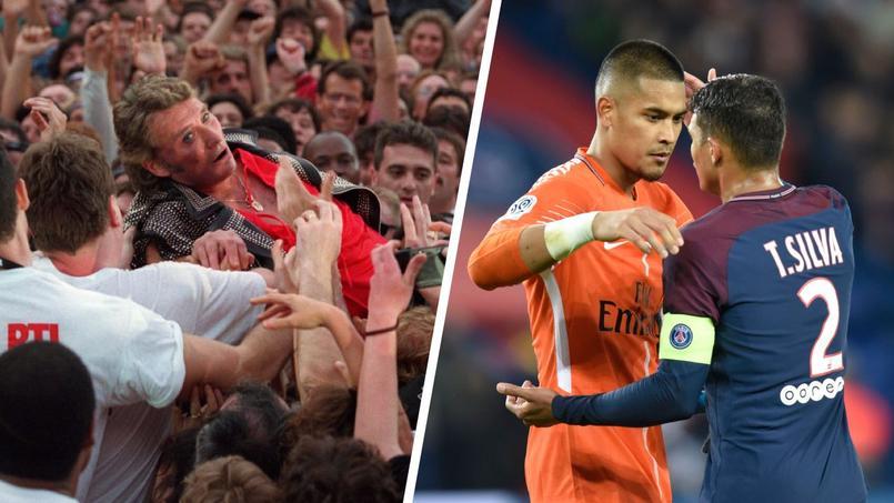 Le PSG jouera trois chansons de Johnny face à Lille