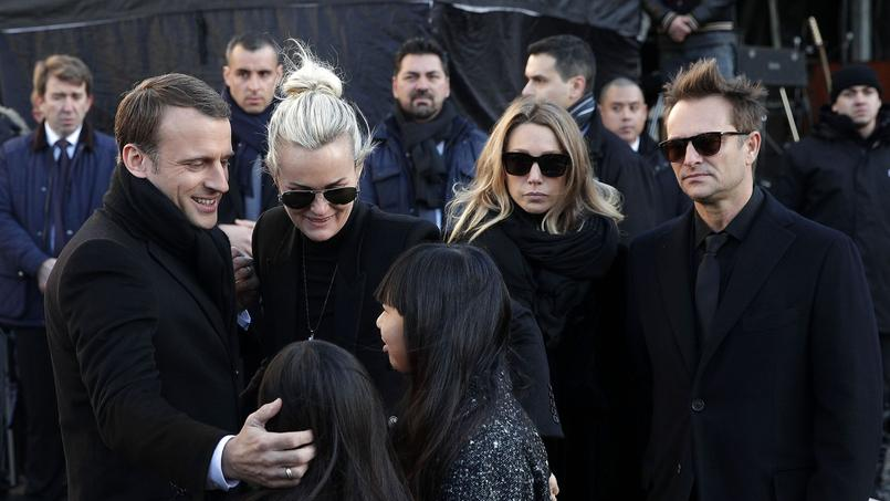 Comment Marine Le Pen a été exclue des obsèques de Johnny Hallyday