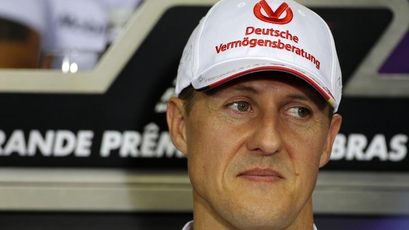 Michael Schumacher avant son accident