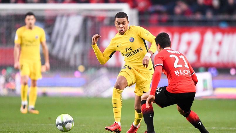 Rennes-PSG (1-4) le 16 décembre dernier en Ligue 1