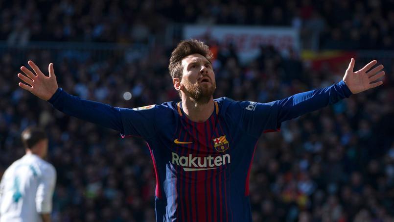 Lionel Messi contre le Real Madrid le 23 décembre dernier