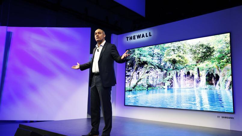 Samsung voit très grand dans les téléviseurs