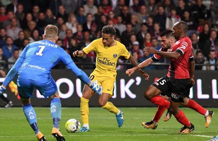 Guingamp-PSG (0-3) lors de la 2e journée de Ligue 1