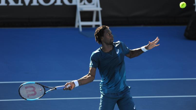 Gaël Monfils a battu Jaume Munar en trois sets ce mardi à l'Open d'Australie.