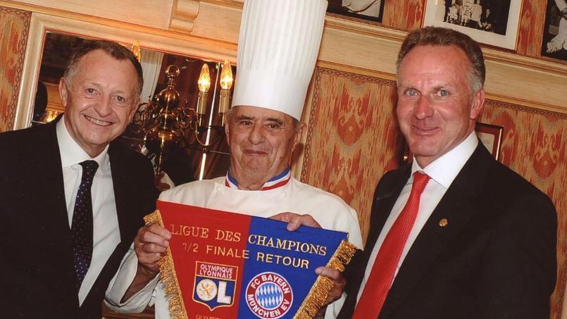 L'OL et les Lyonnais rendent hommage à Paul Bocuse