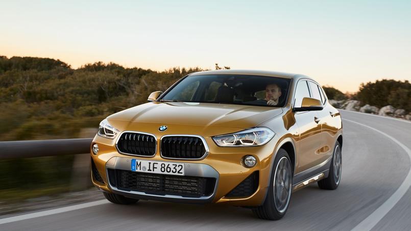bmw x2 quand le suv compact devient sportif. Black Bedroom Furniture Sets. Home Design Ideas