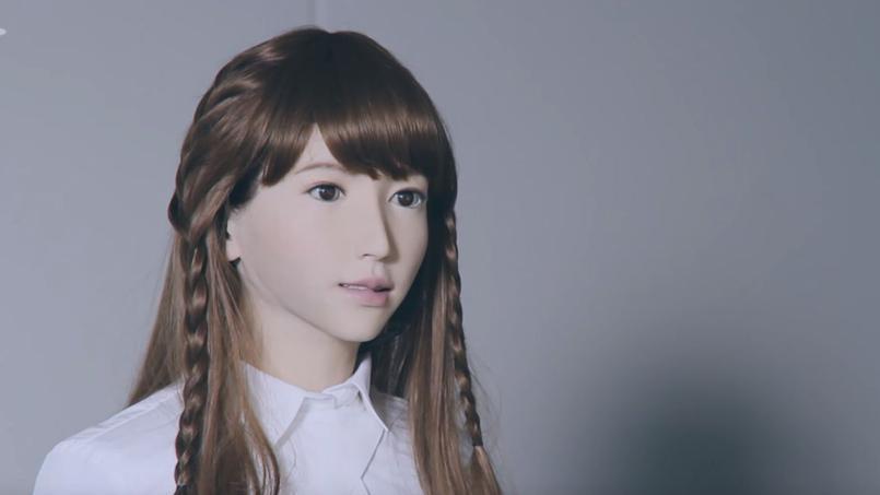 Au Japon, le journal télévisé présenté par un robot nommé Erica