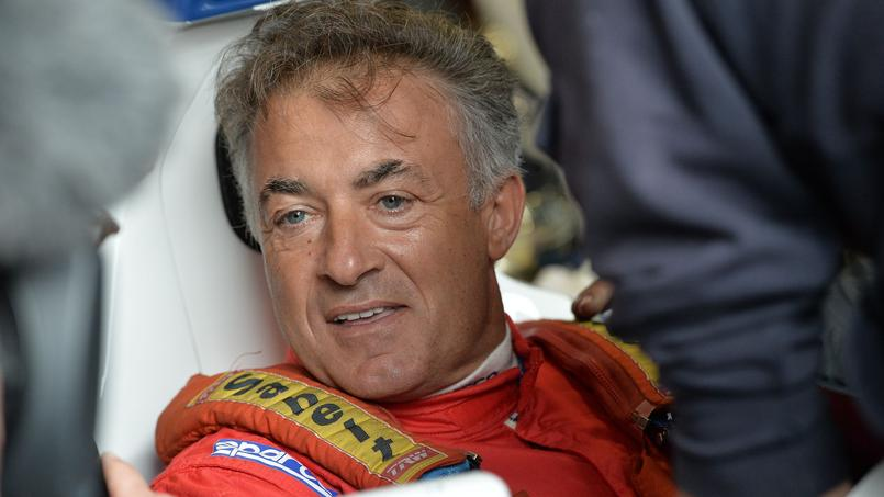 Jean Alesi au Grand Prix de France historique en juillet 2017.