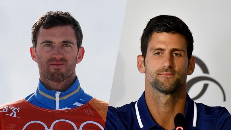 Novak Djokovic veut rencontrer son sosie français Pierre Vaultier