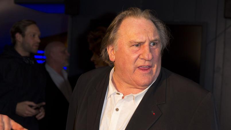 Gérard Depardieu en janvier 2017 à l'occasion de l'avant première du film «le divan de Staline».
