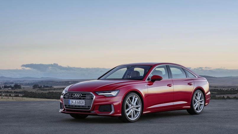 Audi A6, une A8 en réduction