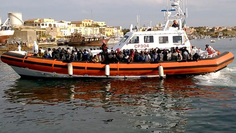 En vingt ans, un million de migrants sont arrivés sur les côtes d'Italie