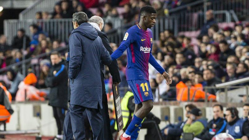Le Barça perd patience avec Ousmane Dembélé qui adore le fast-food