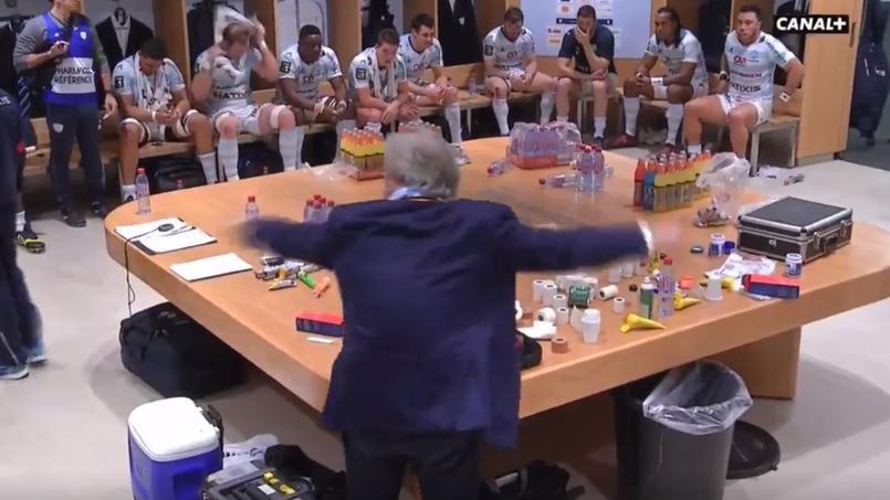 Jacky Lorenzetti a passé un savon à ses joueurs à la mi-temps de Racing-Stade Français
