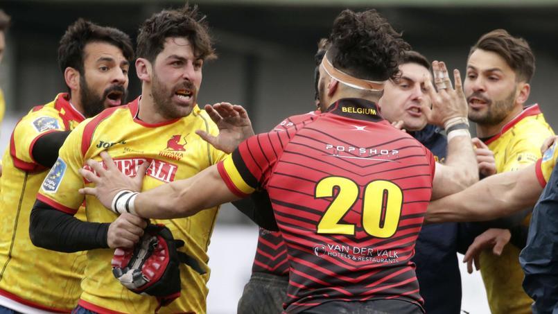 La Belgique s'impose contre l'Espagne après un duel tendu (18-10) — Rugby